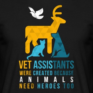 Vet Assistants Heroes Veterinary T-shirt T-Shirts - Men's T-Shirt