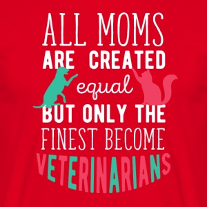 Veterinarians Mom Veterinary T-shirt T-Shirts - Men's T-Shirt
