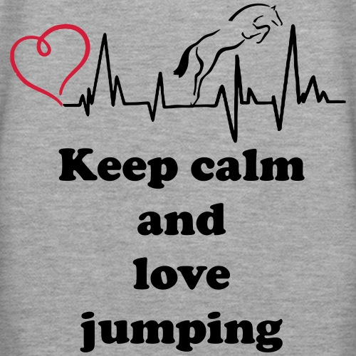 keep calm and love jumpin