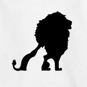 MY CAT HAS THE HEART OF A LION! Shirts - Kids' T-Shirt