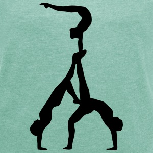 Acrobatics - Women's T-shirt with rolled up sleeves
