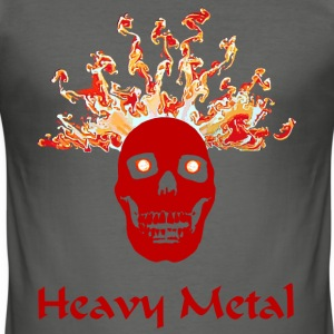 Heavy Metal  - Männer Slim Fit T-Shirt