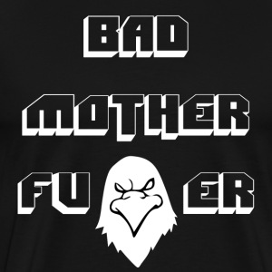 Hawk Vision Bad Mofo T-Shirt Black - Männer Premium T-Shirt