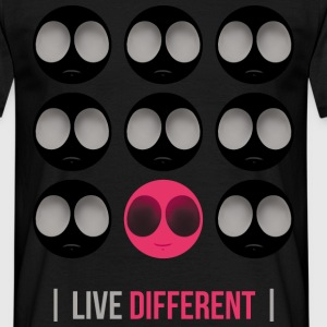 LIVE DIFFERENT - T-shirt Homme