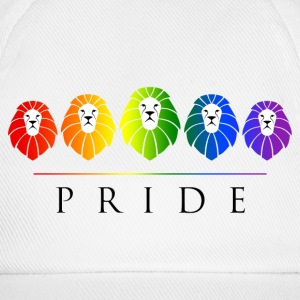 Gay Pride of Lions - LGBT Rainbow Caps & Hats - Baseball Cap