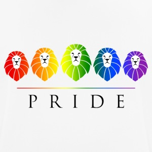 Gay Pride of Lions - LGBT Rainbow T-Shirts - Men's Breathable T-Shirt