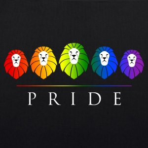 Gay Pride LGBT Rainbow Lions Bags & Backpacks - EarthPositive Tote Bag
