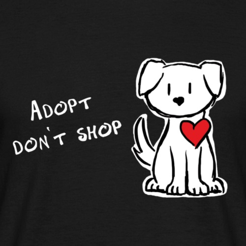 Adopt, dont shop Dog