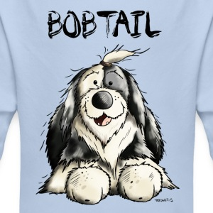 Funny Old English Sheepdog Baby Bodysuits - Longlseeve Baby Bodysuit
