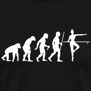 Evolution Barre T-shirts - Herre premium T-shirt