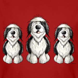 Three Old English Sheepdogs T-Shirts - Men's Organic T-shirt