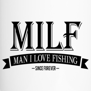 MILF / Man I Love Fishing / black Krus & tilbehør - Termokrus