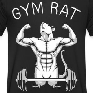 Gym Rat T-Shirts - Men's V-Neck T-Shirt