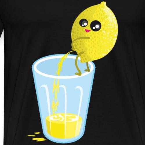 Lemon pees lemonade