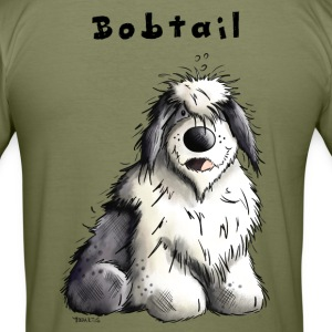 Old English Sheepdog T-Shirts - Men's Slim Fit T-Shirt