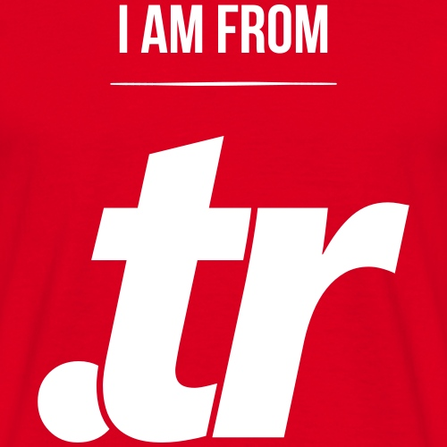 i am from .tr