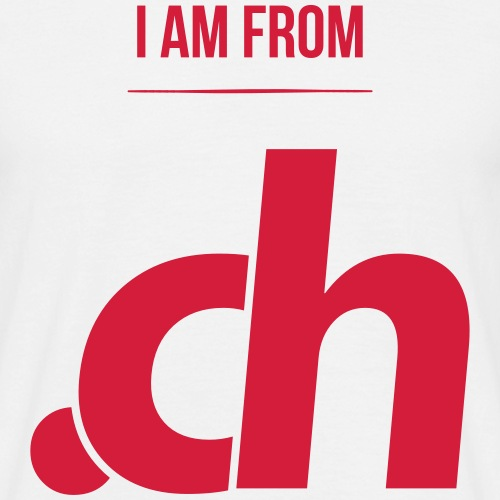 i am from .ch