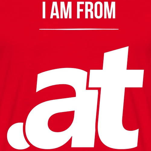i am from .at