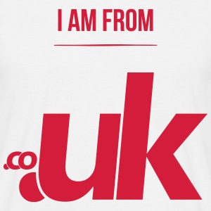 i am from .uk T-Shirts - Männer T-Shirt