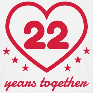 22 - Birthday Wedding - Marriage - Love T-shirts - Herre-T-shirt