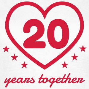 20 - Birthday Wedding - Marriage - Love T-shirts - Vrouwen T-shirt