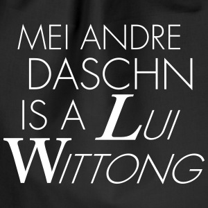 Mein andre Daschn is a Lui Wittong - Turnbeutel
