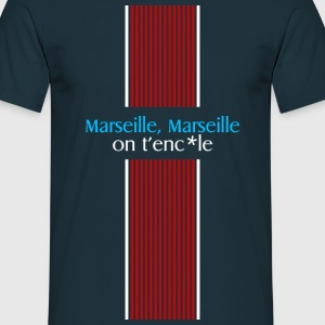 marseille on t'enc*le Tee shirts - T-shirt Homme