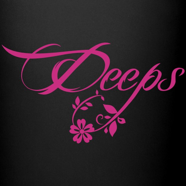 Deeps cup logo w pink