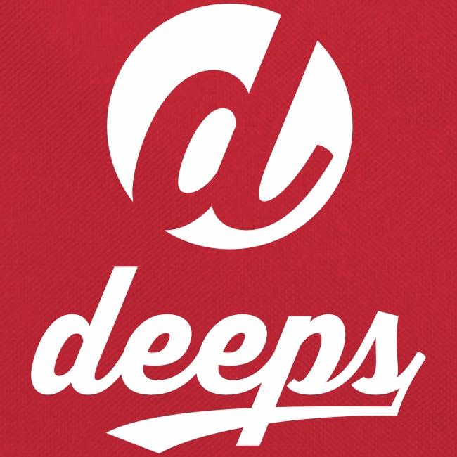 Deeps back retro logo vintage blanc