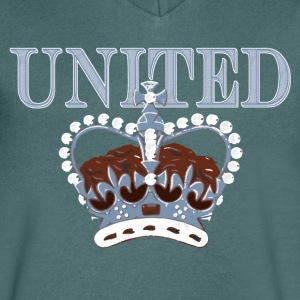crown T-Shirts - Men's V-Neck T-Shirt