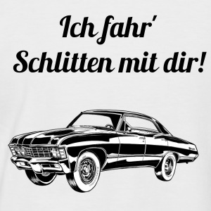 US Car  - Männer Baseball-T-Shirt