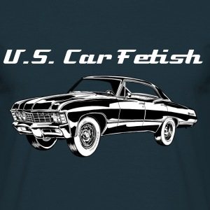 US Car Fetish - Männer T-Shirt