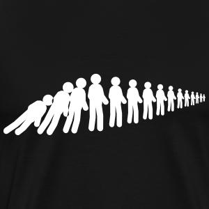 Menschen Domino