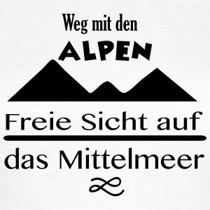 Alpen T-Shirts - Frauen T-Shirt
