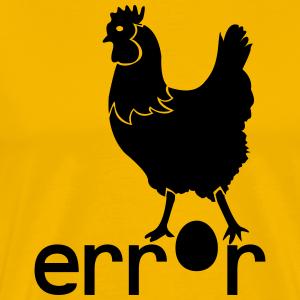 Error Huhn