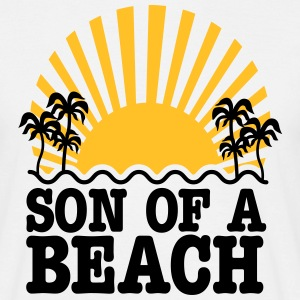 son of a beach T-shirts - Mannen T-shirt