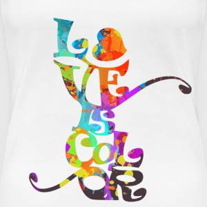 love_is_color Magliette - Maglietta Premium da donna
