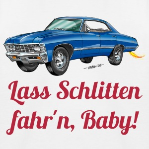 US Car Ami Schlitten - Kinder Baseball T-Shirt