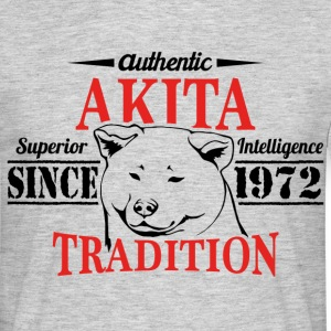 Authentic Akita Tradition T-Shirts - Men's T-Shirt
