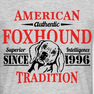 Authentic American Foxhound Tradition T-Shirts - Men's T-Shirt