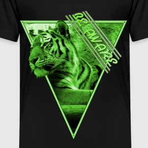 Tiger - Be Aware T-Shirts - Kinder Premium T-Shirt