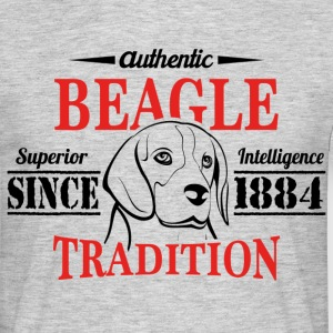 Authentic Beagle Tradition T-Shirts - Men's T-Shirt