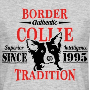 Authentic Border Collie Tradition T-Shirts - Men's T-Shirt