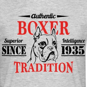Authentic Boxer Tradition T-Shirts - Men's T-Shirt