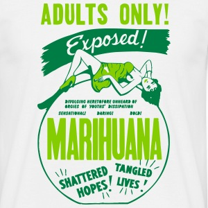 Retro Marijuana Tshirt T-Shirts - Men's T-Shirt