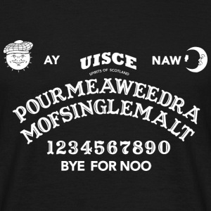 Scottish Ouija Board T-shirts - Mannen T-shirt