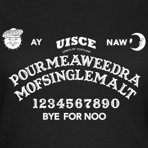 Scottish Ouija Board T-shirts - Dame-T-shirt