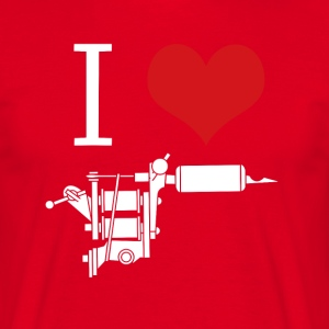 I love inks Tattoo Artist T-shirt T-Shirts - Men's T-Shirt