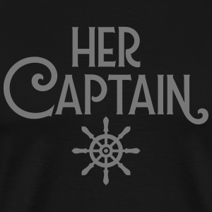 Her Captain - His Mermaid (Part 1) T-skjorter - Premium T-skjorte for menn