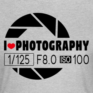 I love Photography  T-Shirts - Frauen T-Shirt